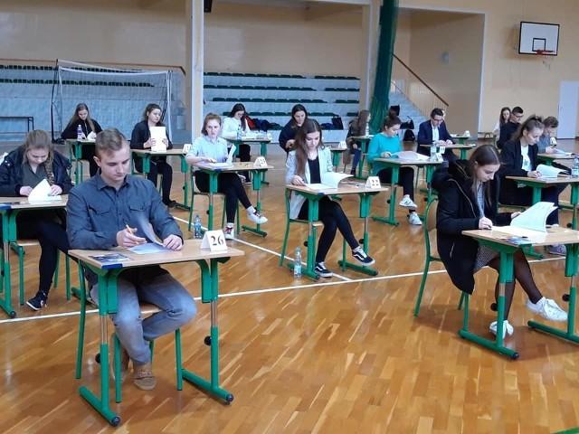 Próbna matura 2019 w LO Małogoszcz