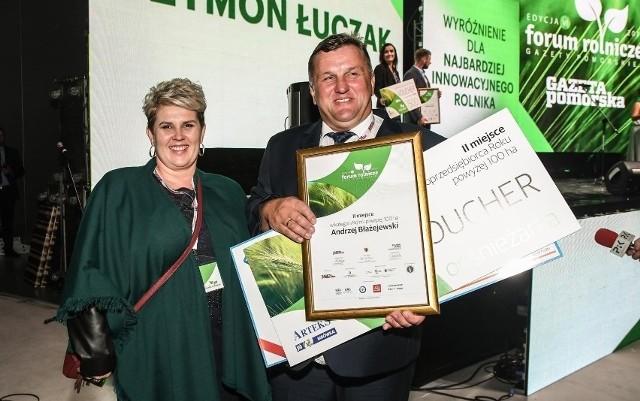 Podczas forum nagrodzimy sołtysów i rolników. Na zdjęciu: Andrzej Błażejewski, jeden z wcześniejszych laureatów