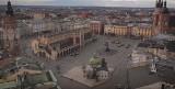 Koronawirus w Krakowie. Centrum miasta niemal wymarło, widok jest bardzo przejmujący [WIDEO]
