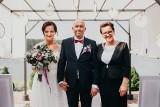 Niezwykły ślub mieszkańca Morawicy. W wyjątkowej scenerii, nad zalewem [ZDJĘCIA]