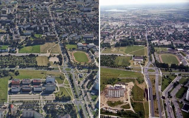 Jak zmienił się Koszalin w ciągu ostatnich 20 lat? Postanowiliśmy to sprawdzić. W tej galerii znajdziecie zdjęcia Koszalina wykonane pod koniec lat 90-tych przez Krzysztofa Sokołowa. Te same miejsca znaleźliśmy na Google Earth oraz Google Maps. Sprawdź!Zobacz także: Koszalin: Nocna Ściema 2019