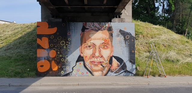Murale na ul. Węgierskiej w Nowym Sączu