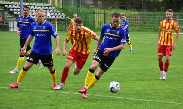 Korona II Kielce tylko zremisowała z Podhalem Nowy Targ 0:0. Zmarnowała kilka znakomitych okazji do strzelenia gola.