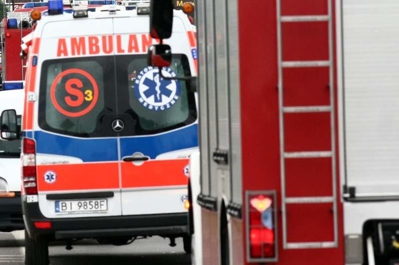 Dzięki szybkiej akcji strażaków, kobieta po udarze trafiła do szpitala