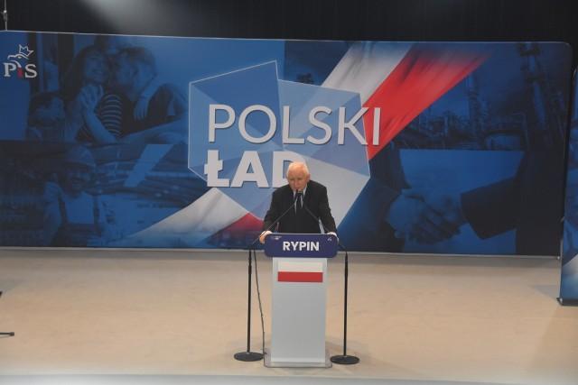 W Rypinie Jarosław Kaczyński mówił o założeniach Polskiego Ładu