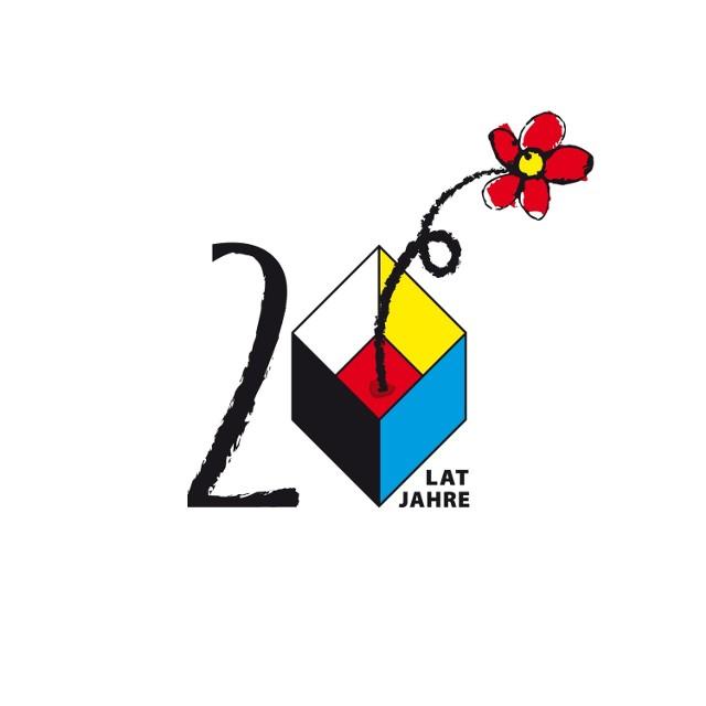 Logo 20-lecia TSKN zaprojektowała Halina Fleger.