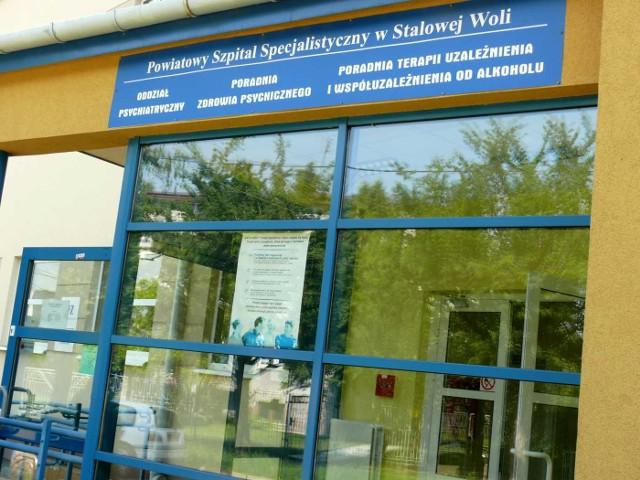 Ratowanie i leczenie narkomanów odbywa się w Stalowej Woli na oddziale psychiatrycznym.