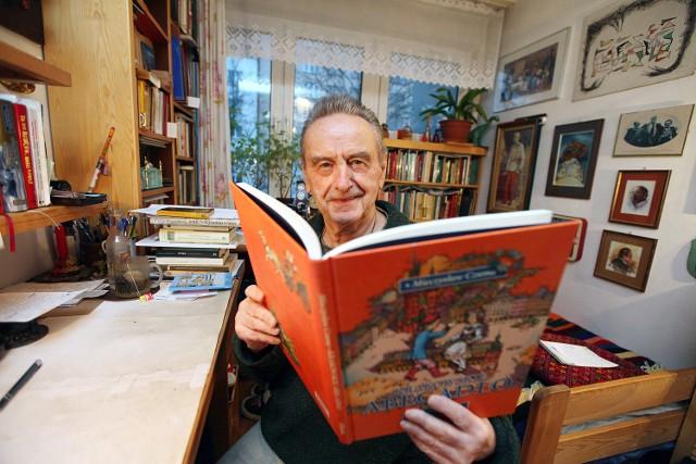 Mieczysław Czuma spodziewa się w Dniu Dziadka odwiedzin swoich wnuków. Będzie to dobra okazja do rozmowy.