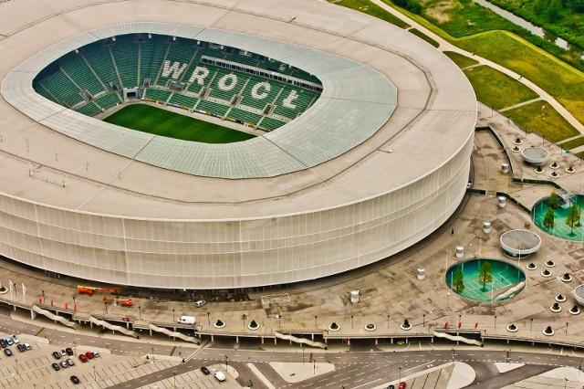 Stadion Wrocław - mecz Polska vs Rosja 1.06.2021