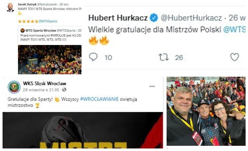 Betard Sparta Wrocław w niedzielę triumfowała w rozgrywkach...