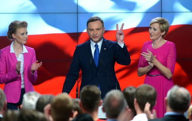 Andrzej Duda zwyciężył w pierwszej turze wyborów prezydenckich.
