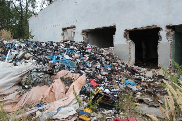 Składowisko odpadów przy ul. Słowackiego w Trzebini