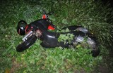 Bargłówka: Wypadek motorowerzysty