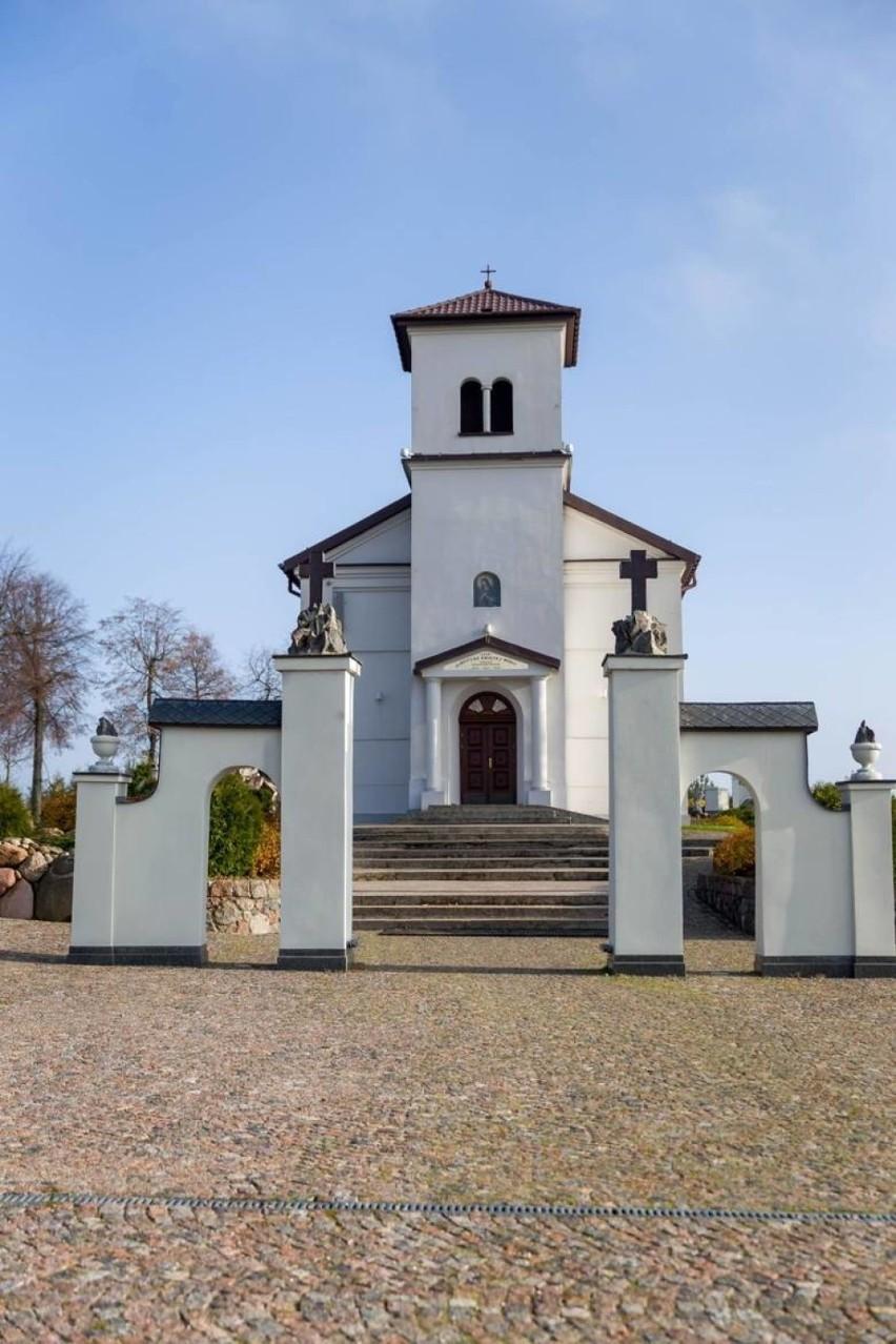 Sanktuarium Matki Bożej Bolesnej w Świętej Wodzie w...