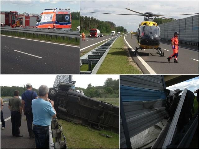 Śmiertelny wypadek na drodze nr 3.