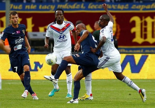 Spotkanie Pogoni Szczecin z Olympique Lyon zakończyło się bezbramkowo
