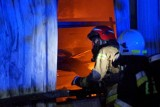 Pożar koło Kalisza. W Cekowie-Kolonii spłonęła lakiernia. Straty mogą sięgać nawet 3 mln złotych