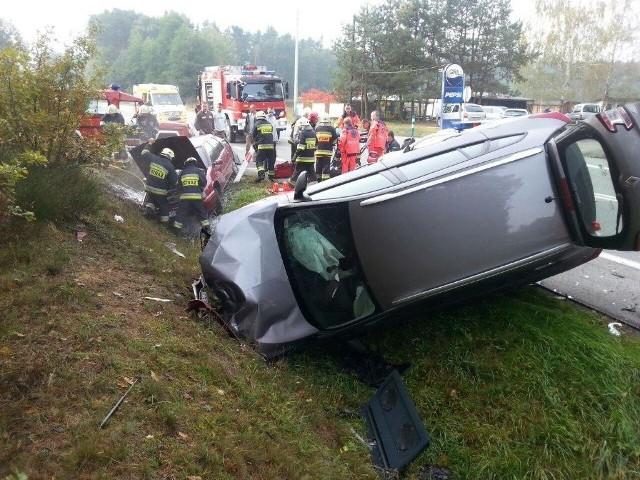 Wypadek w Osowcu