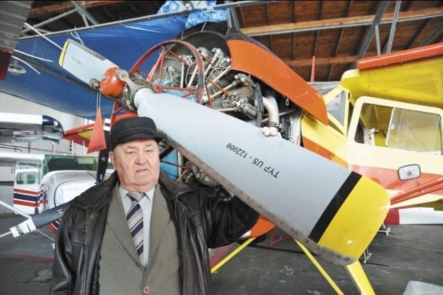 Całe życie poświęcił pasji latania. Największe sukcesy osiągał w barwach Aeroklubu Białostockiego.