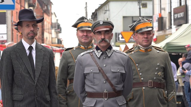 O marszałku Józefie Piłsudskim w niedzielę 4 lipca znów było głośno w Nakle