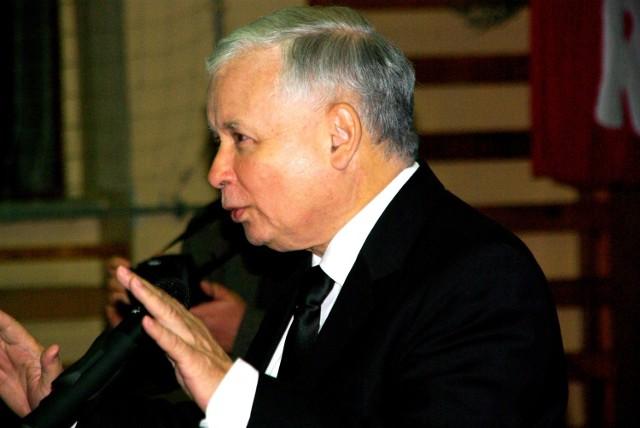 Kaczyński w Wielkopolsce walczył o głosy