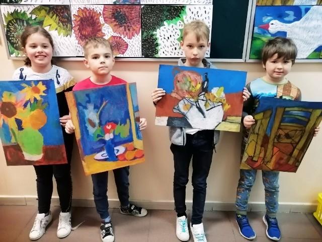"""Konkurs plastyczny """"Francuscy impresjoniści"""" cieszył się dużym zainteresowaniem wśród uczniów białostockich szkół"""