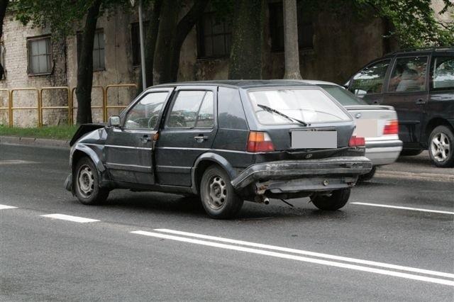 W poniedziałek po południu na ul. Bohaterów Westerplatte zderzyły się trzy auta osobowe