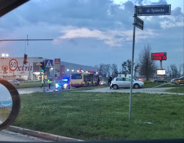 Wypadek przy Alei Bielany