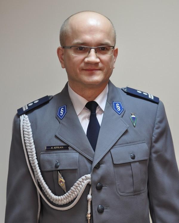 Młodszy Inspektor Krzysztof Sztejka