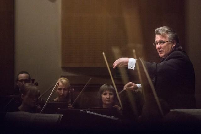 Mykoła Diadiura od wielu lat regularnie dyryguje białostocką orkiestrą Opery i Filharmonii Podlaskiej