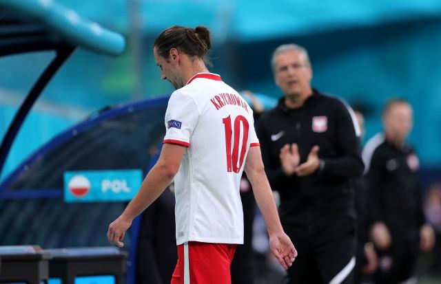 Grzegorz Krychowiak w meczu ze Słowacją zobaczył czerwoną kartkę