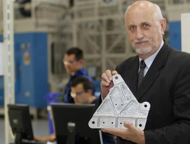 Dolina Lotnicza buduje fabryki i eksportuje za 2 miliardy dolarówPrezes Ryszard Łęgiewicz