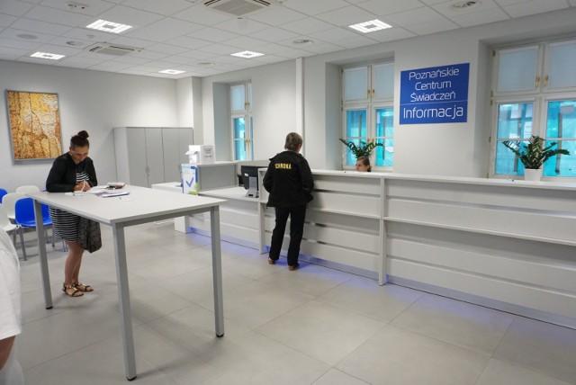 Od 31 sierpnia Poznańskie Centrum Świadczeń będzie czynne od rana do wieczora z przerwą techniczną na dezynfekcję pomieszczeń