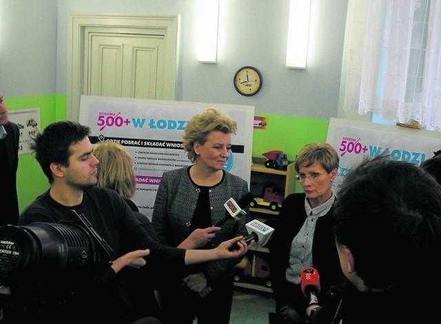 Prezydent  H. Zdanowska obiecuje,  że w 271 punktach miasta od poniedziałku będą wydawane wnioski  w programie 500 +