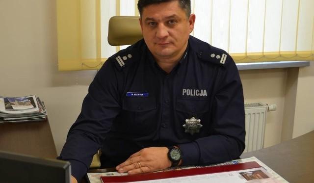 Inspektor Maciej Nestoruk pełnił funkcję szefa policji od listopada 2016 roku