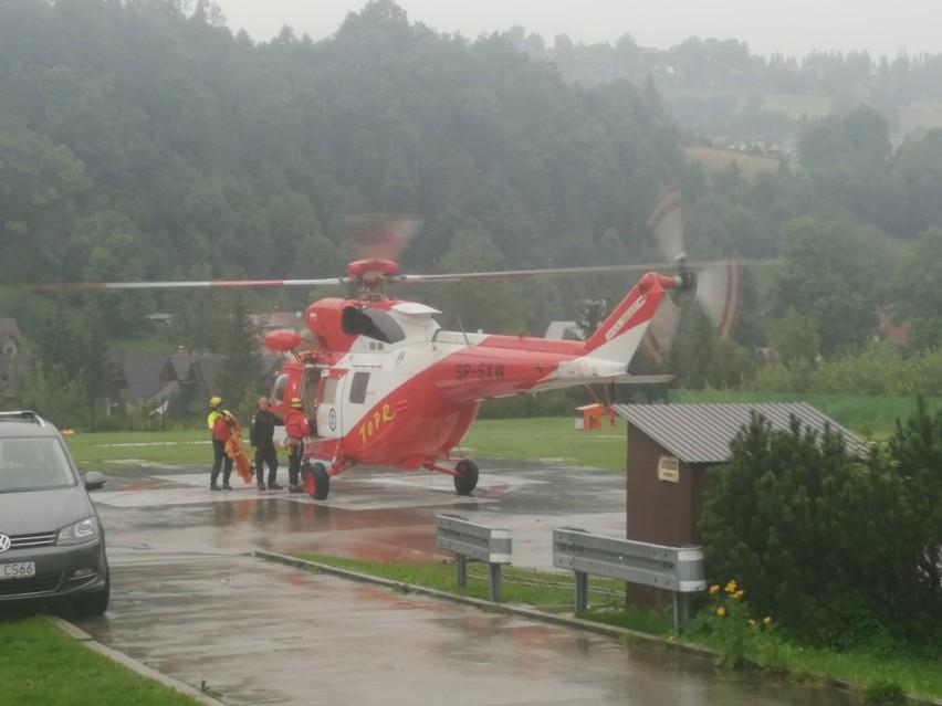 Burza w Tatrach. Piorun uderzył w Giewont, są ofiary śmiertelne i wielu rannych 25 08