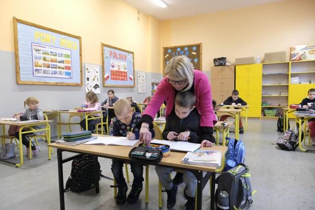 Na szczepienie zdecydowała się Anita Nowak, nauczycielka SP nr 1 w Toruniu