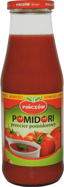 Przecier pomidorowy Pomidori pińczowskiego Gomaru to produkt, który na pewno doceni każda gospodyni.