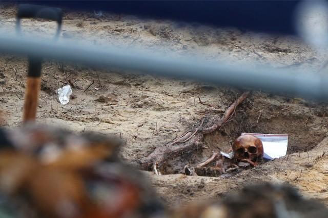 Ludzkie ciała odnaleziono podczas prac archeologicznych na terenie dawnego basenu
