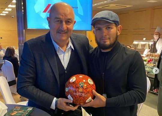 Czerczesow i Nurmagomiedow