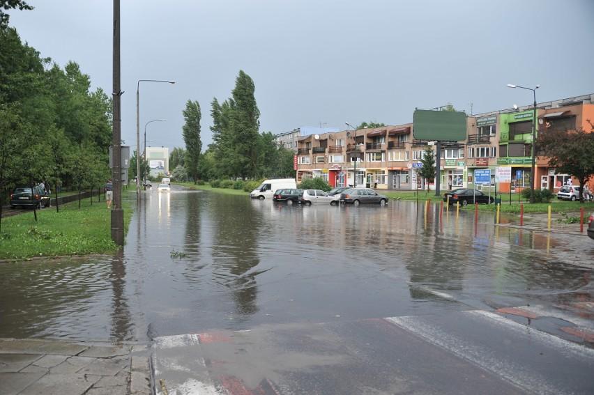 W 2005 roku między 28 a 31 lipca nad Polską przechodziły...