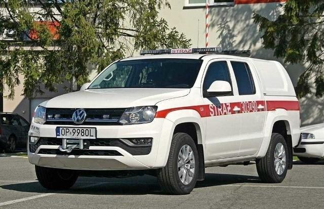 Nowy wóz dla strażaków z Niemodlina.
