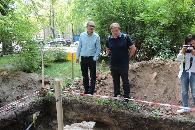 Marek Szymaszkiewicz i Kamil Bogusz