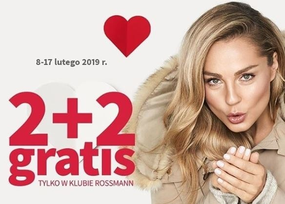 Rossmann 2+2 luty 2019 Jakie produkty w promocji Rossmanna Jak skorzystać z promocji 2 plus 2 Co w nowej promocji luty 2019