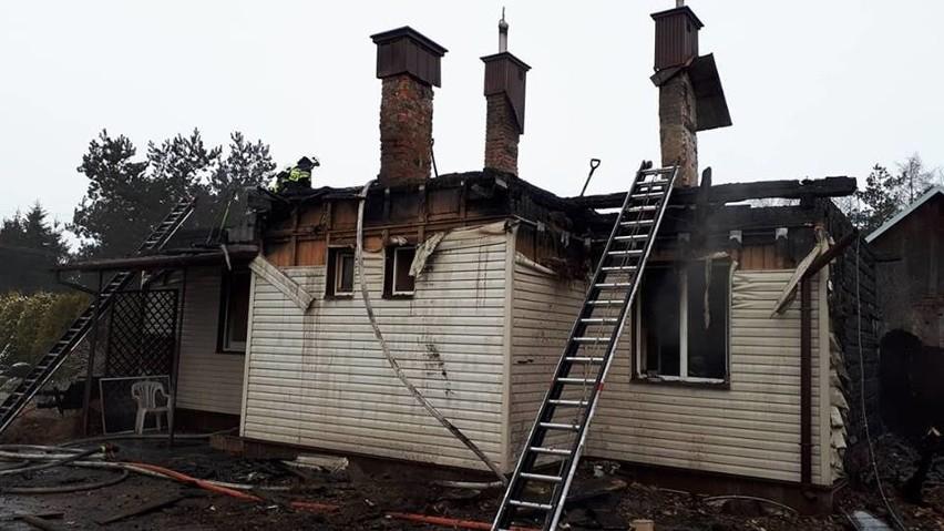 W niedzielę nad ranem doszło do pożaru w miejscowości...
