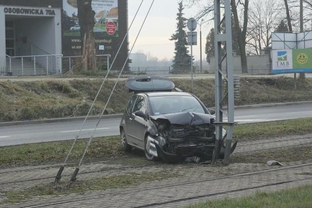 Wypadek na Osobowickiej