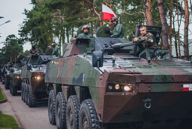 Strzelcy Konni szkolą się na Litwie.