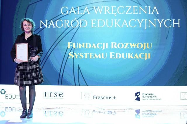 Magdalena Bojarska z PWSTE w Jarosławiu otrzymała prestiżowy tytuł EDUinsporator 2019.