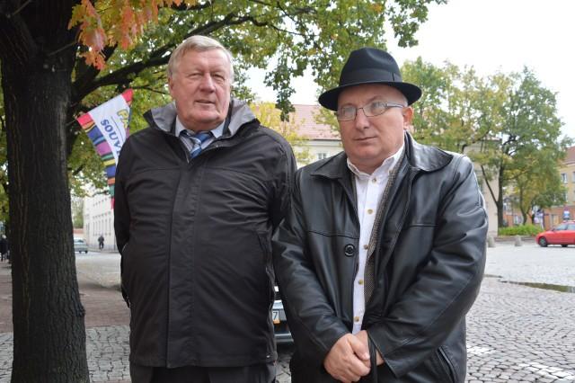 Do tej pory nie zdarzyło się, aby prezes ZEC nie dostał absolutorium. Zbigniew Wójcik (pierwszy z prawej) jest pierwszy