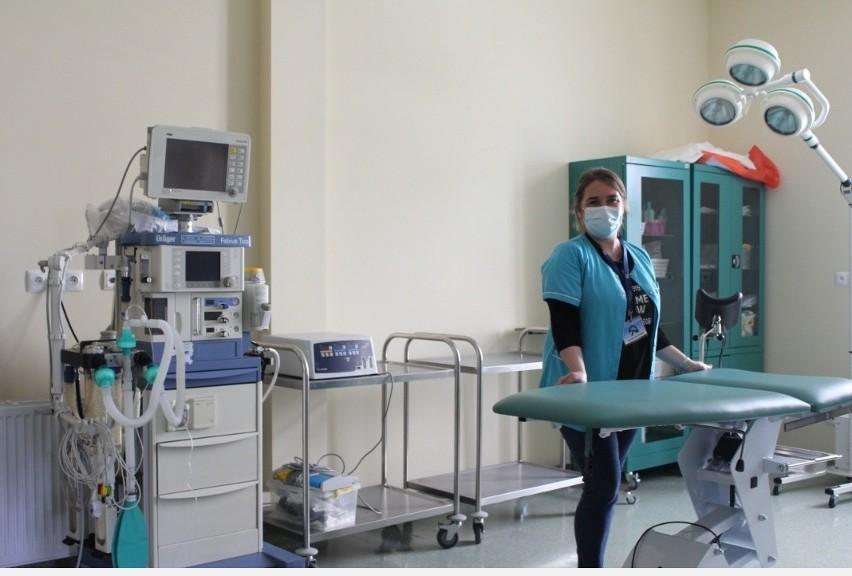 Sala w oddziale ginekologiczno-położniczym w Zakładzie...